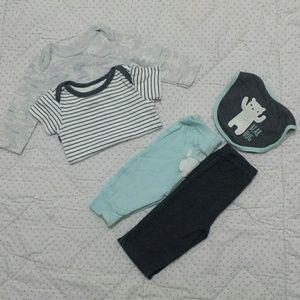 6-9mo new NWT RENE ROFE girls 100/% Cotton Floral Print Top /& Green Shorts 3-6mo